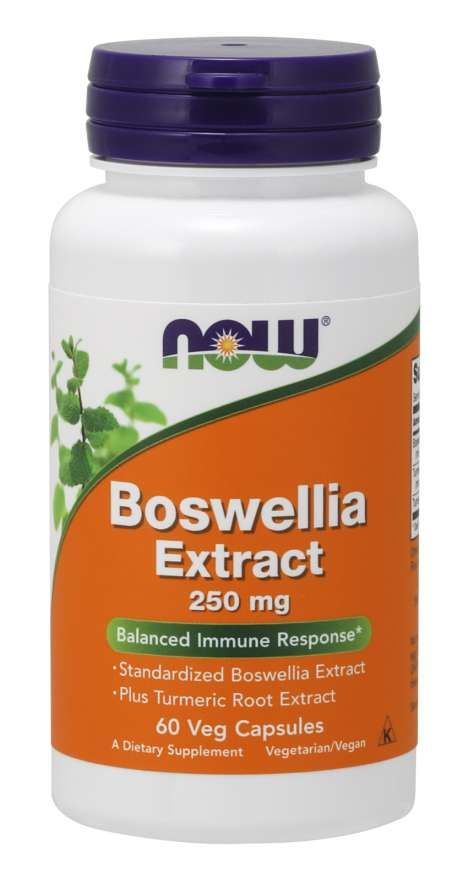 Now Boswellia Extract Босвеллии экстракт, 250 мг, капсулы, 60 шт.